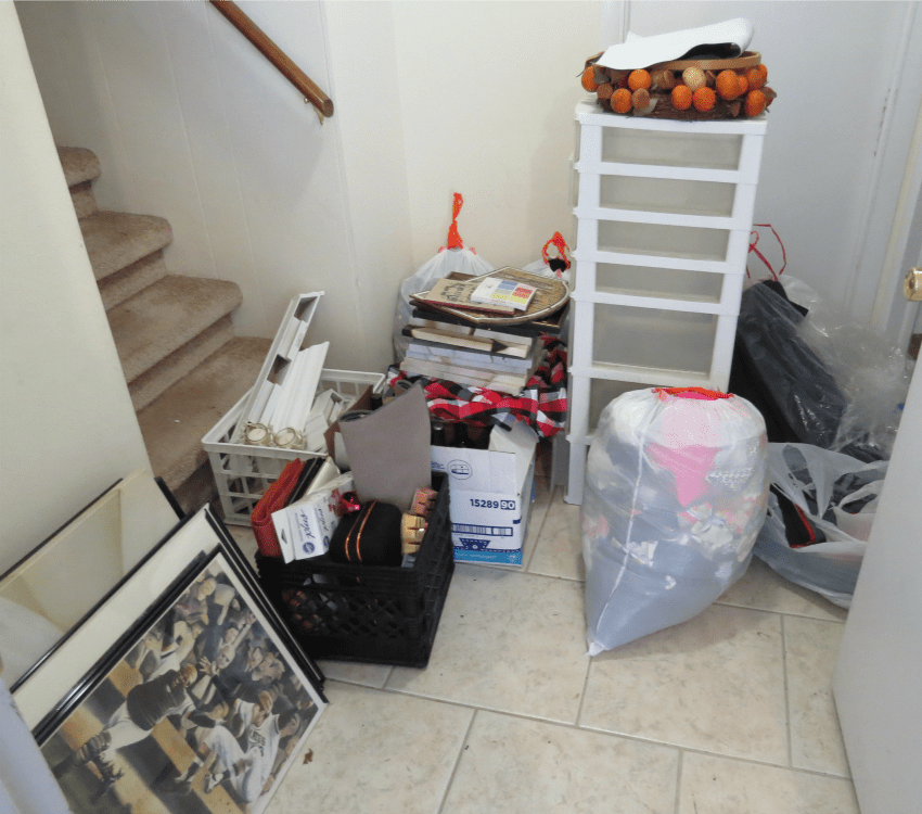Things to donate or giveaway after organizing the garage