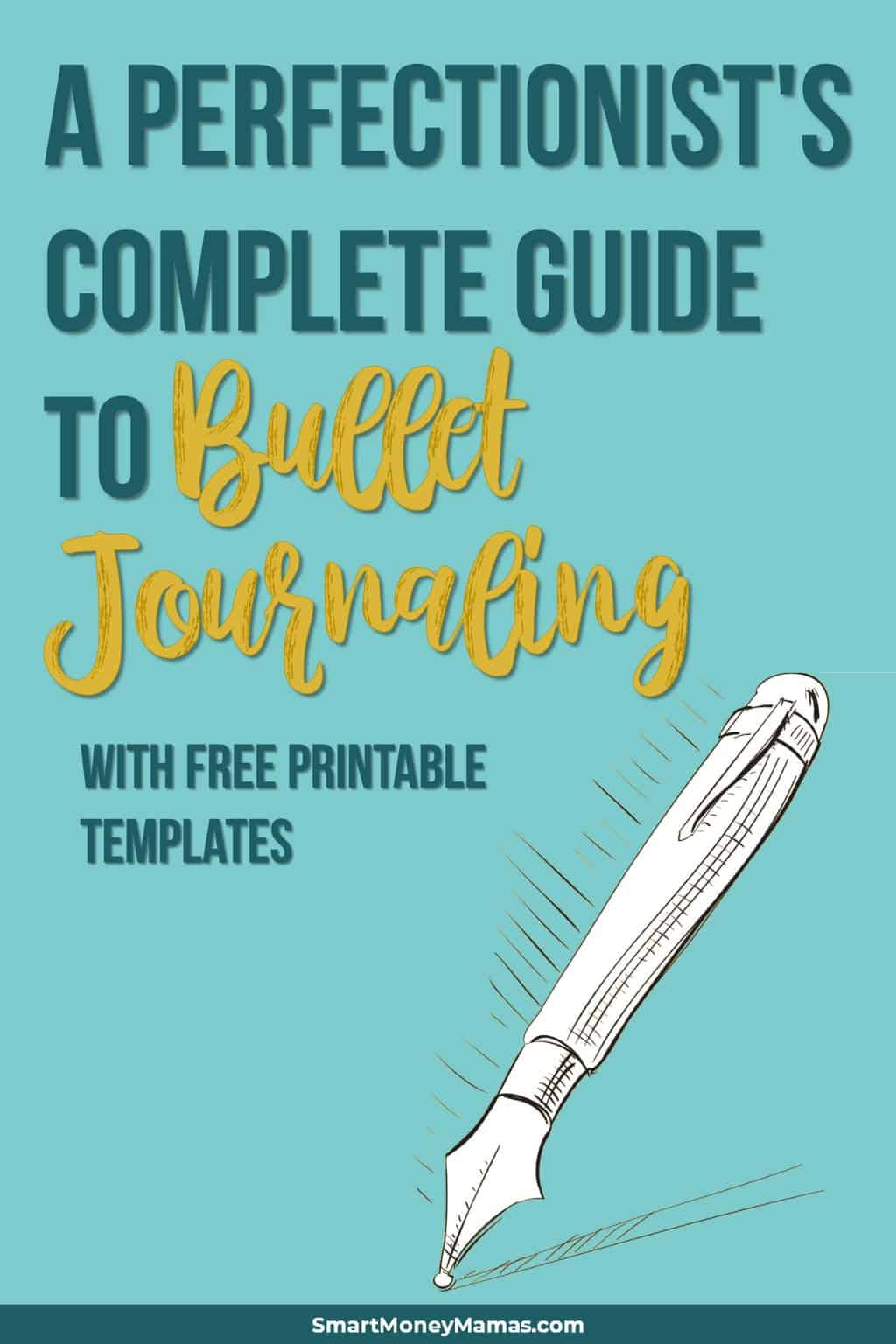 How to start a bullet journal for perfectionists and busy parents | Bullet journal tips for beginners | Bullet journal layout ideas | Free bullet journal inserts for ring planner #bulletjournal #bujo #perfectionist #freeprintables #printables