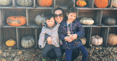 Amanda and her kids - how they handled the government shutdown