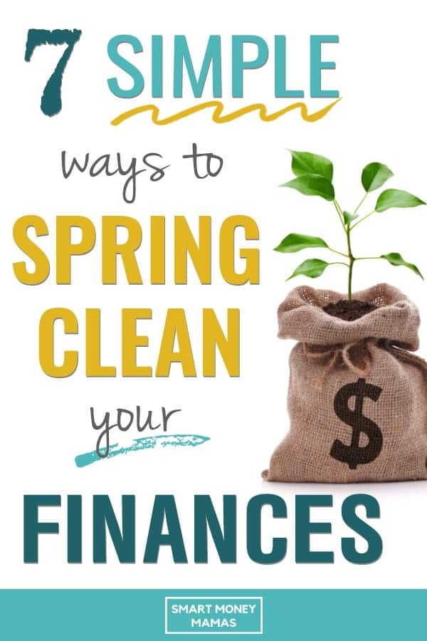 7 simple ways to spring clean your finances plant growing out of money bag