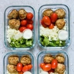 Air Fryer Meatballs for Meal Prep