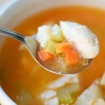 Freezer Friendly Chicken Soup