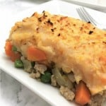 Healthy Chicken Shepherd's Pie