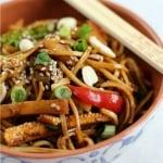 Vegetarian Crunchy Vegetable Noodle Salad