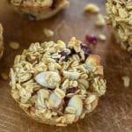 Cranberry Almond Oatmeal Muffins