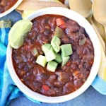 Easy Black Bean Chili One Pot Recipe