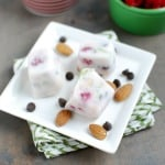 Frozen Yogurt Trail Mix Bites