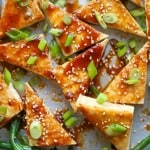 Sheet Pan Honey Sesame Tofu