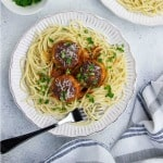 Make Ahead Turkey Meatballs