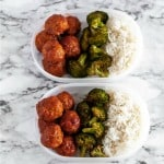 Korean Meatball Meal Prep