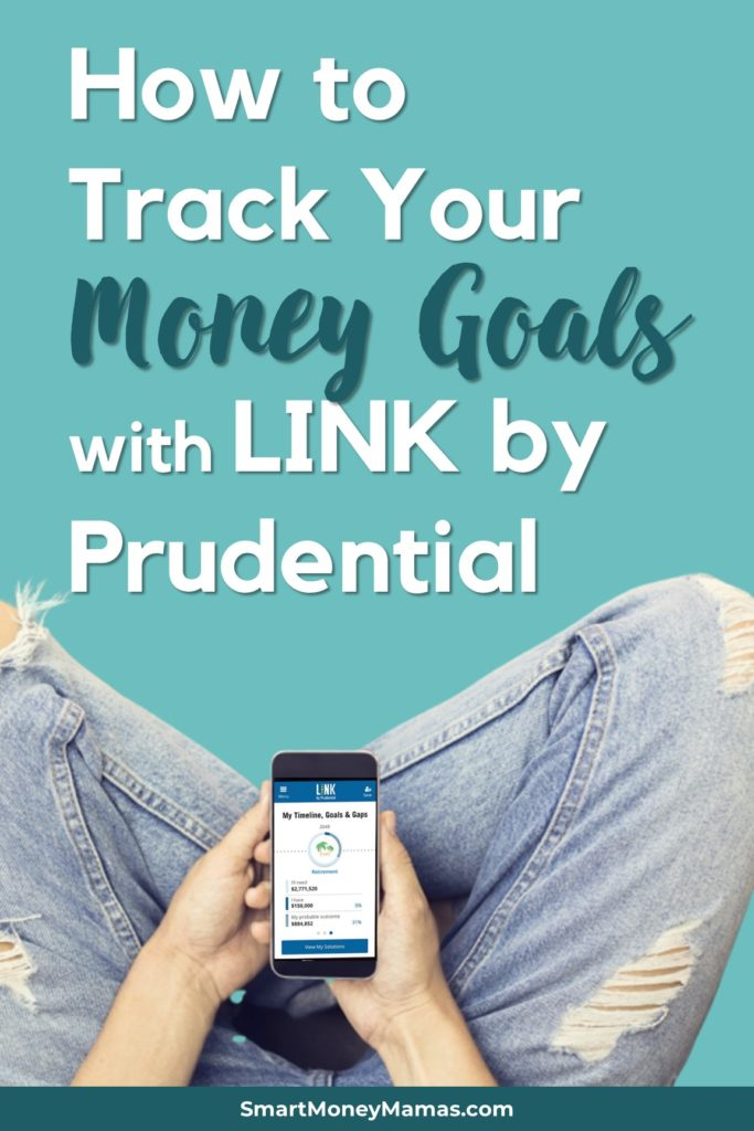 tracking your money goals with link by prudential