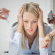 Woman stressed when expectations are too high because you can't have it all