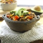 One Pot Beef and 3 Bean Chili