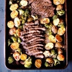 Sheet Pan Steak, Potatoes, and Veggies