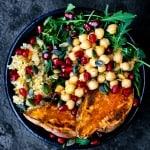 Vegan Moroccan Lunch Bowls