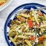 Easy Mediterranean Penne Pasta Salad