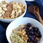 Overnight steel cut oats breakfast recipe