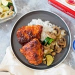 Spicy Korean Chicken Meal Planning