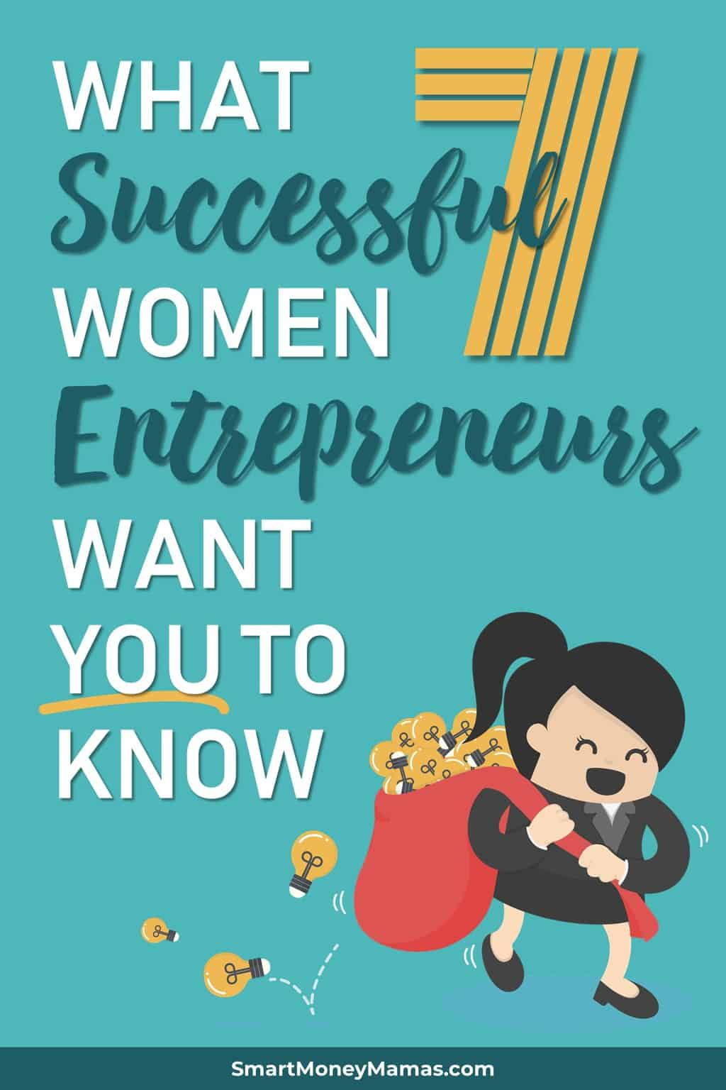 Great advice from seven incredible female entrepreneurs on starting a business of your own. Such inspiring stories and examples of success across a number of different business types! #smartmoneymamas #entrepreneur #momboss #mompreneur #startabusiness