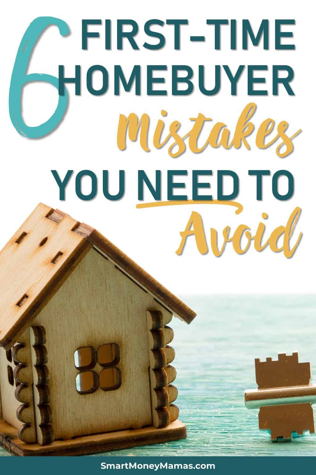 Homebuying is a complex process, but there are a few major mistakes you can avoid with a little planning to make it much less stressful. Discover what you need to do - directly from an experienced real estate agent. #homeowner #realestate #firsttimehomebuyer #realtor