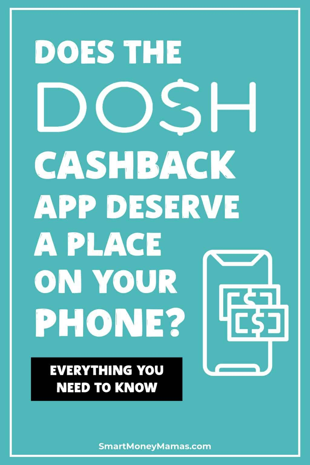 Want to earn cash back for purchases you\'re already making every day? Dosh lets you do just that, automatically. No taking pictures of receipts or submitting purchases. Discover everything you need to know about the app in this review - then download to claim your free $5 bonus! #smartmoneymamas #appreview #moneytips #moneyapps #cashback