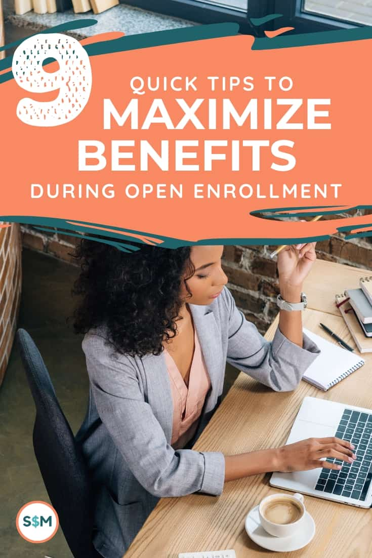 Are you getting the most from your corporate benefits? Don\'t leave money on the table, overcome the jargon and use these simple tips to choose the right healthcare plan and benefits for your family. #smartmoneymamas #healthcare #openenrollment #benefits #companybenefits