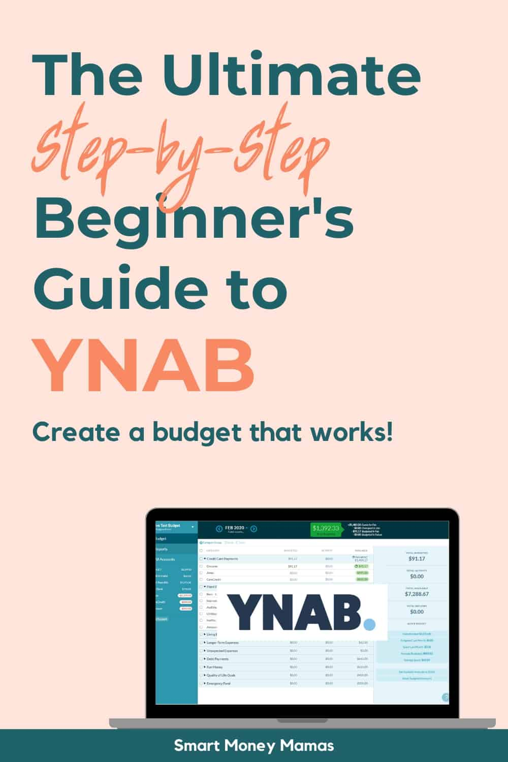 The Ultimate Step-by-Step Beginner's Guide to YNAB