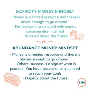 Scarcity versus abundance money mindset
