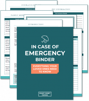 Emergeny Binder PNG