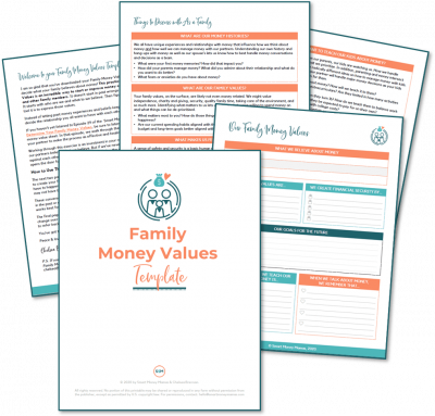 Family Money Values - Pin