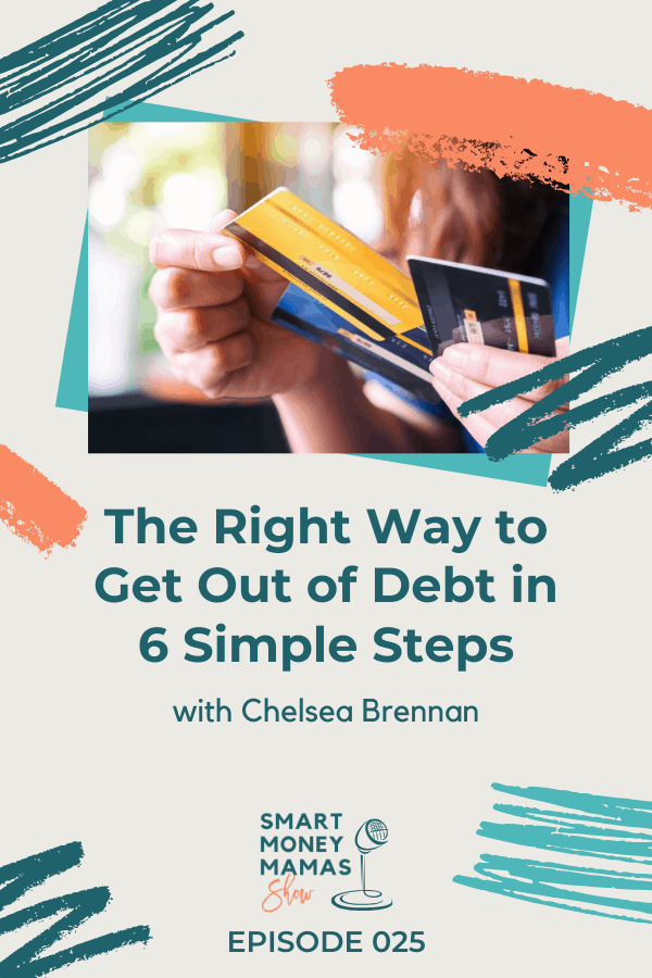 The Right Way to Get Out of Debt in 6 Simple Steps - credit cards in woman's hand
