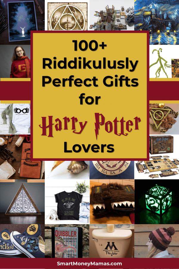 100+ Riddikulously Perfect Gifts for Harry Potter Lovers
