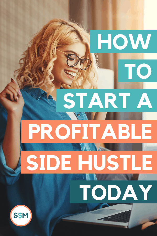 How to Start a Profitable Side Hustle Today pin