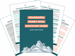 Meaningful Money Goal Kickstart Guide Preview