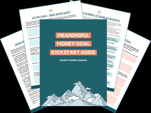 Meaningful Money Goal Kickstart Guide Preview
