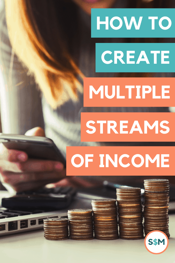 How to Create Multiple Streams of Income pin