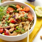 Make Ahead Healthy Thai Coconut Quinoa Bowls